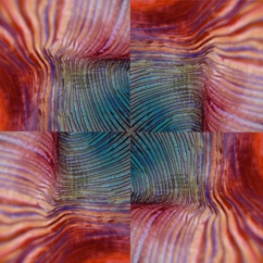 shibori-oscopy quilt block