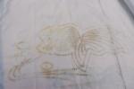 transfered stencil