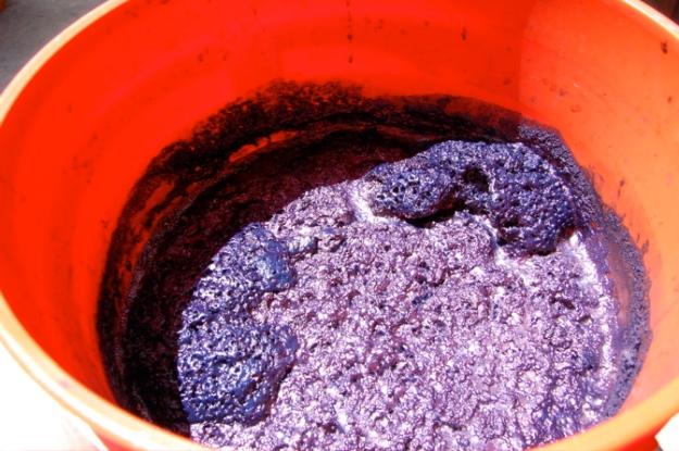 lots of hana-instant indigo vat