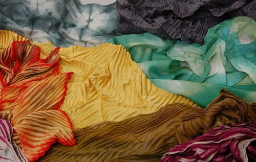 silk painting,shiborigirl