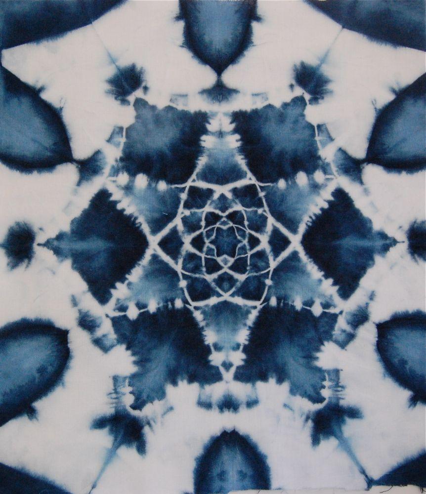 A Quick Mandala Dyeing Workshop Post Shibori Girl