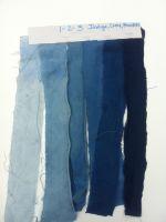 """first """"homework"""" in the online indigo workshop"""