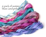6 pack-teals,purples, and pinks oh my!
