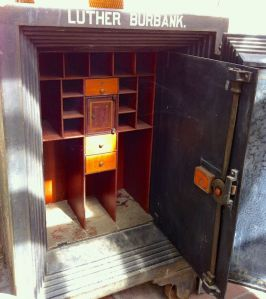 Luther Burbank's seed vault