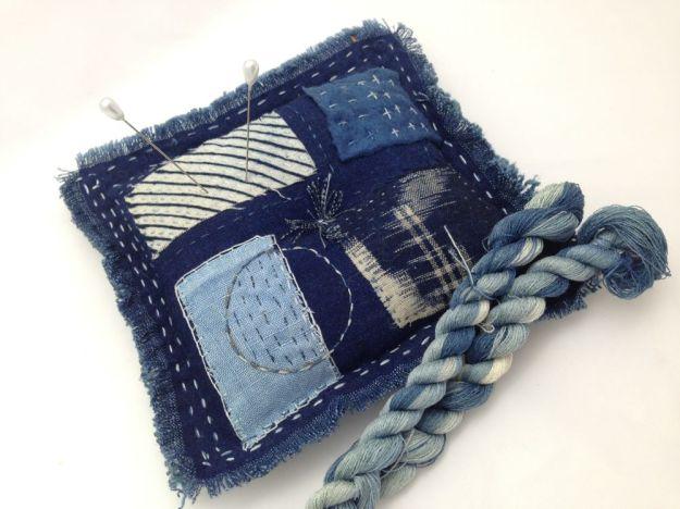 pincushion and thread