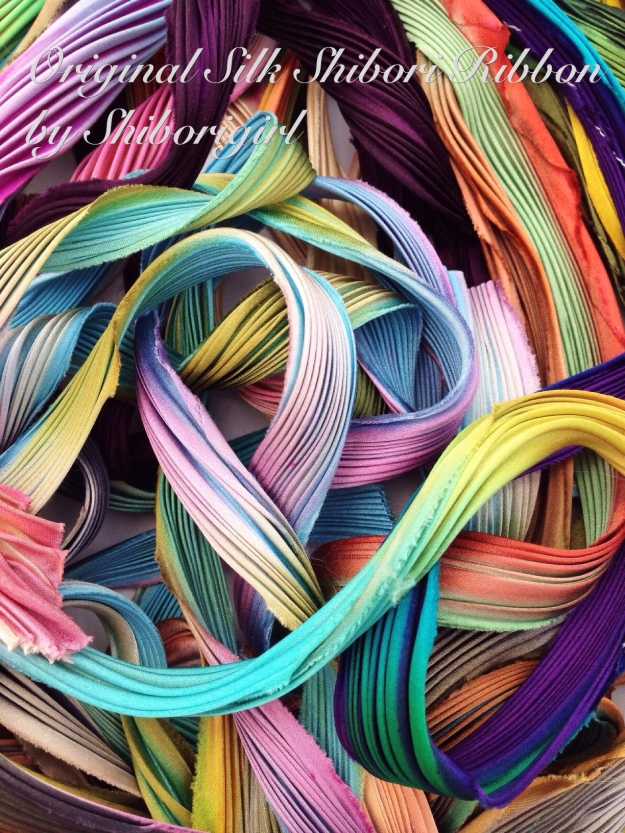 the original silk shibori ribbon