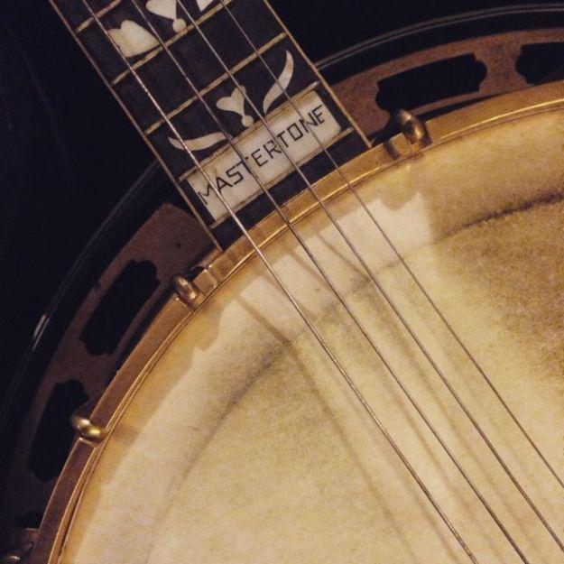 old banjo