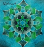 sample made as demo in the mandala class