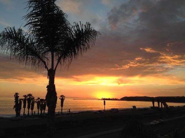 shore leave sunset