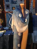 indigo moons on silk wrap