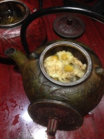 chrysanthemum tea...ahhh