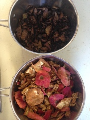 pom and walnut for today